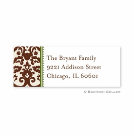 boatman geller madison brown address labels