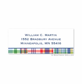 boatman geller madras patch blue address labels