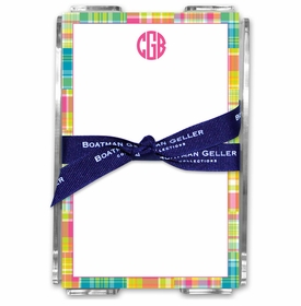boatman geller madras patch bright acrylic note sheets