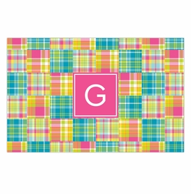 boatman geller madras patch bright disposable placemats