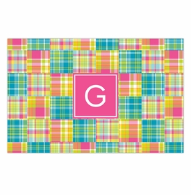 boatman geller madras patch bright placemat