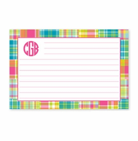 boatman geller madras patch bright recipe card