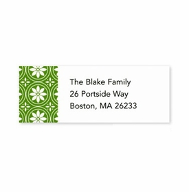 boatman geller medallion green address labels
