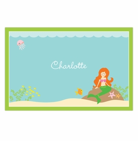 boatman geller mermaid disposable placemats