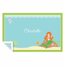 boatman geller mermaid placemat