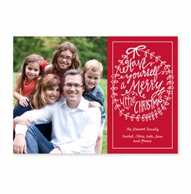 boatman geller merry little christmas cherry photocard
