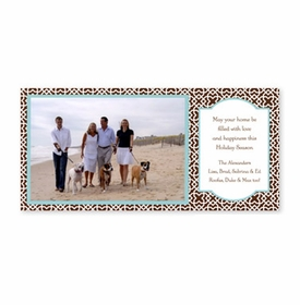 boatman geller mod lattice brown photocard