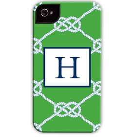 boatman geller nautical knot kelly cell phone case