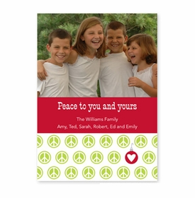 boatman geller peace repeat holiday photocard