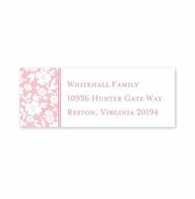 boatman geller petite flower petal address labels