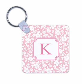 boatman geller petite flower petal key chain