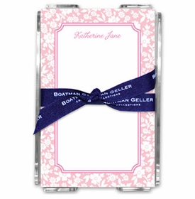boatman geller petite flower petal note sheets in acrylic