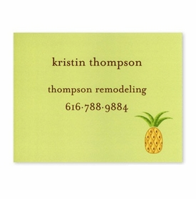 boatman geller pineapple calling card