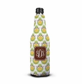 boatman geller pineapple repeat bottle koozie