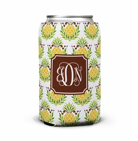 boatman geller pineapple repeat can koozie