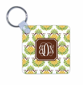 boatman geller pineapple repeat key chain