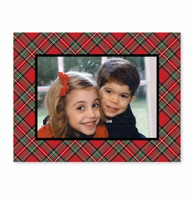 boatman geller plaid red photocard