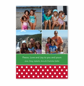 boatman geller polka dot cherry photocard
