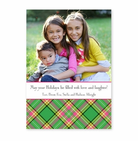 boatman geller preppy plaid photocard