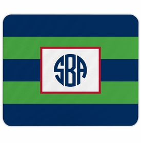 boatman geller rugby navy & kelly mouse pad