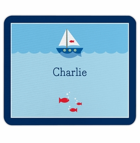 boatman geller sailboat mouse pad