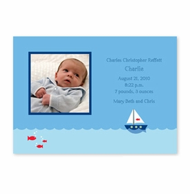 boatman geller sailboat photocard