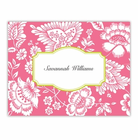 boatman geller savannah pink foldover note