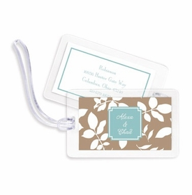 boatman geller silo leaves mocha bag tags
