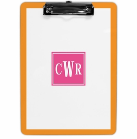 boatman geller solid inset square clipboard