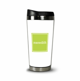 boatman geller solid inset square travel tumbler