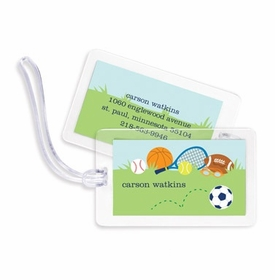 boatman geller sports boy bag tags