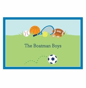 boatman geller sports boy disposable placemats