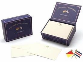 boatman geller starboard stationery box set of 20 cards