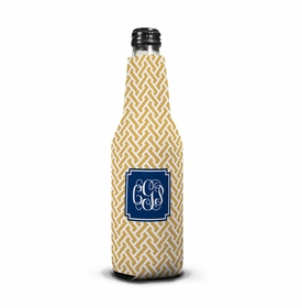 boatman geller stella gold bottle koozie