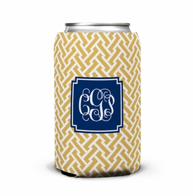 boatman geller stella gold can koozie
