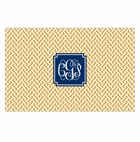 boatman geller stella gold disposable placemats