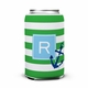 boatman geller stripe anchor can koozie