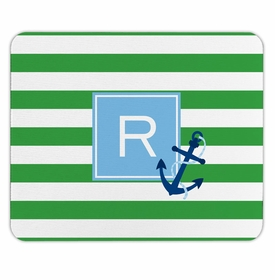 boatman geller stripe anchor mouse pad