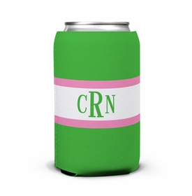 boatman geller stripe kelly & bubblegum can koozie