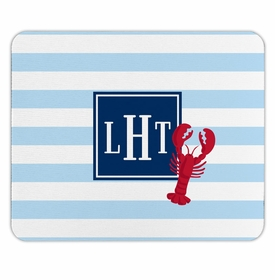 boatman geller stripe lobster mouse pad
