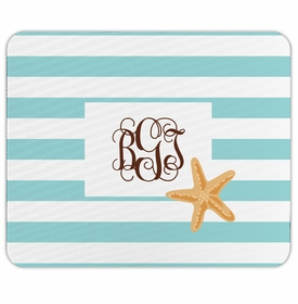 boatman geller stripe starfish mouse pad