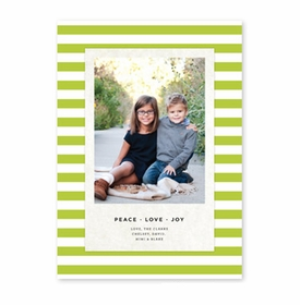 boatman geller striped classic kiwi photocard