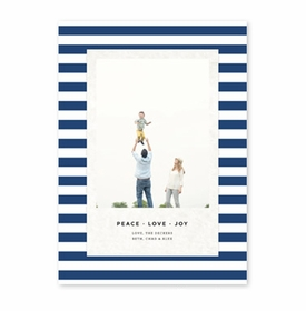 boatman geller striped classic navy photocard