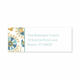 boatman geller suzani gold address labels