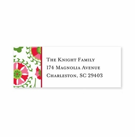 boatman geller suzani holiday address labels