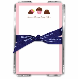 boatman geller sweets acrylic note sheets