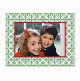 boatman geller tile red and green photocard