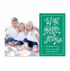 boatman geller tis the season emerald photocard