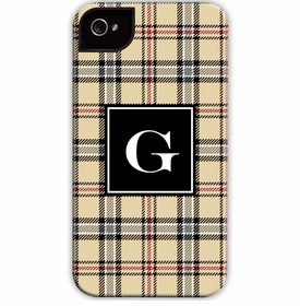 boatman geller town plaid cell phone case