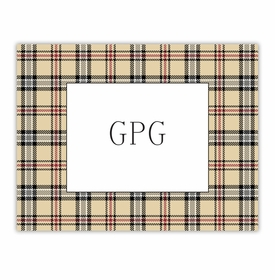 boatman geller town plaid foldover note